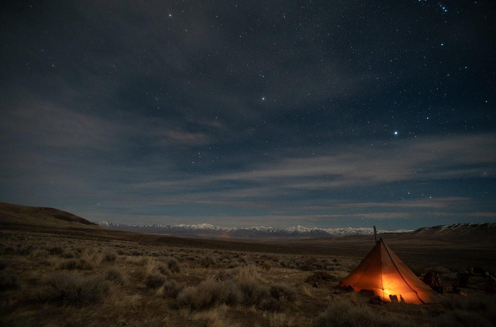 Camp, at Thacker Pass