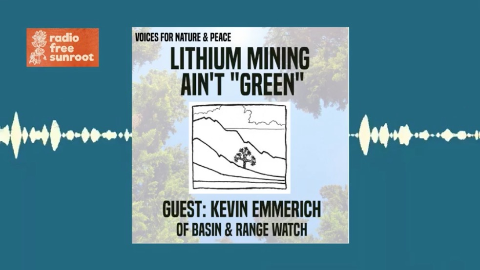 Lithium Mining Ain't Green, with Kevin Emmerich