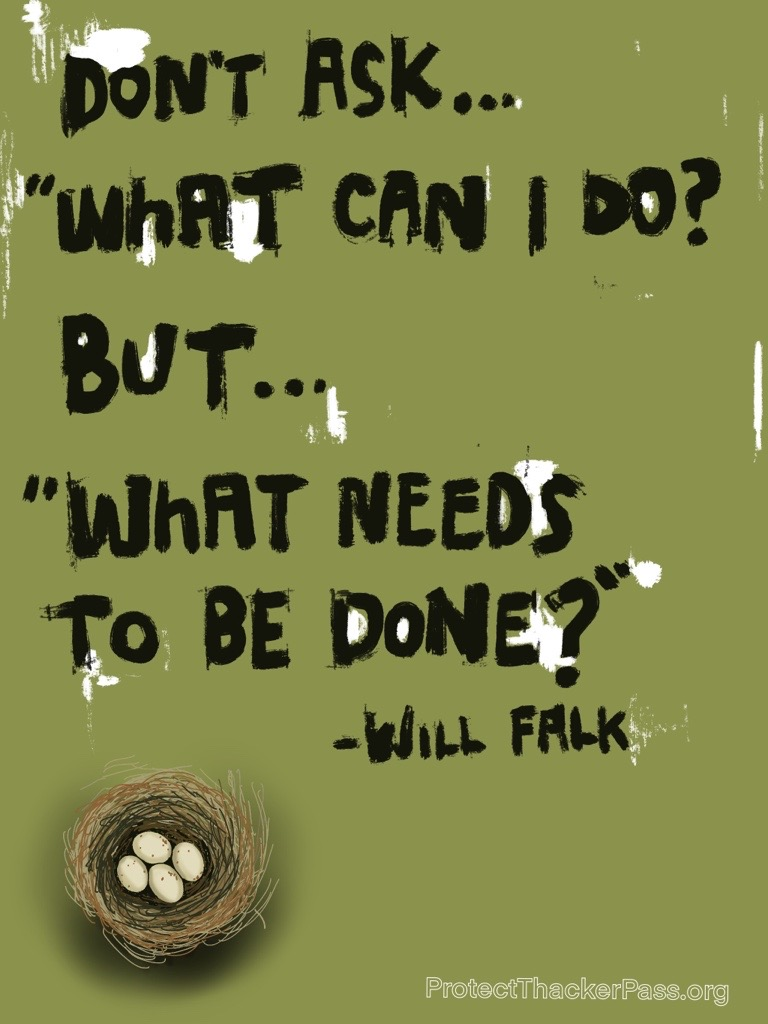Ask what needs to be done