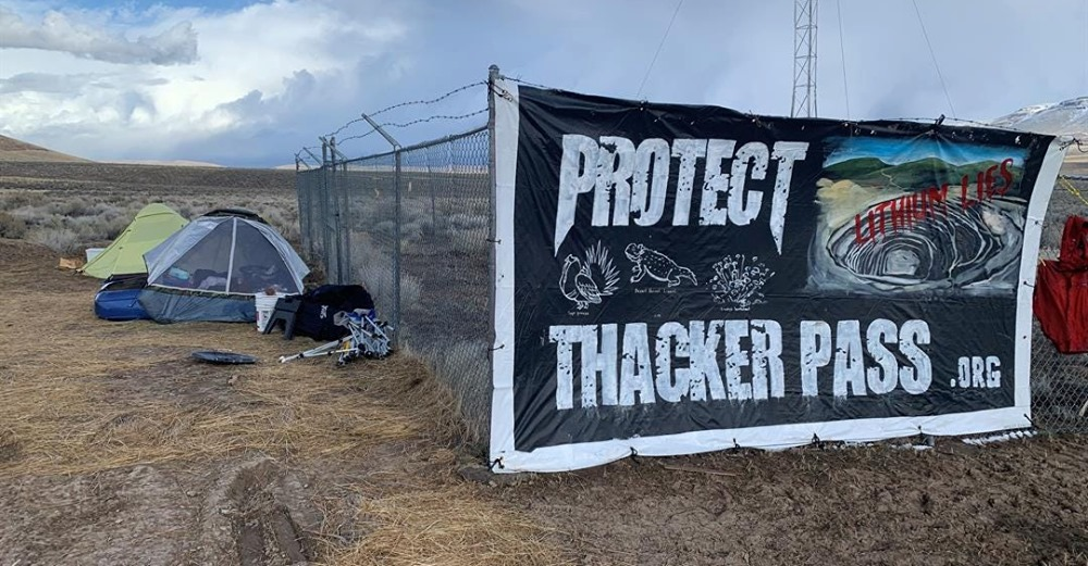 Activists Camp At Thacker Pass To Prevent Lithium Mine From Opening