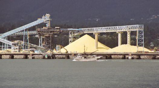 Sulfur Piles