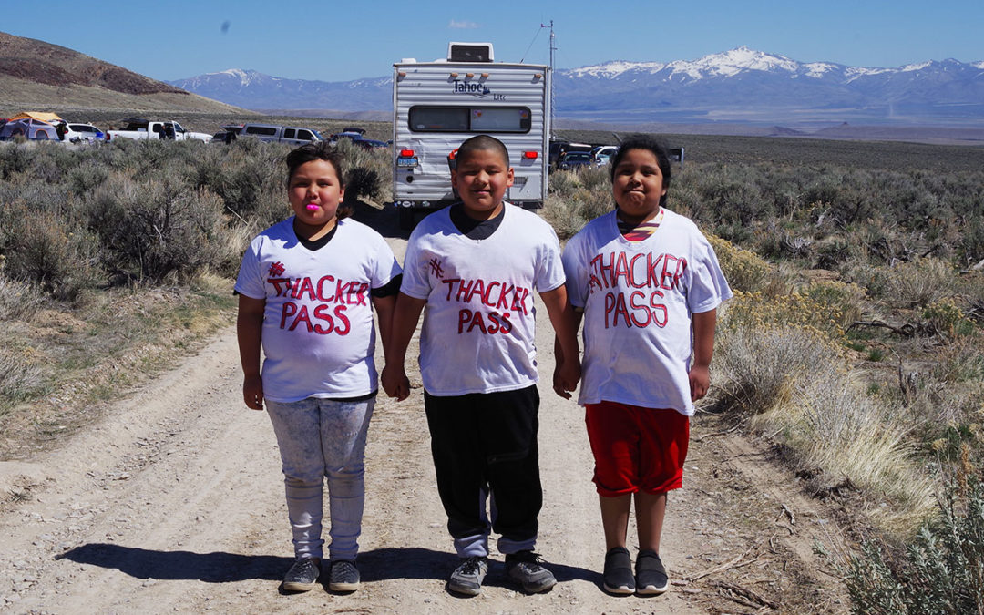 Native Americans Converge at Proposed Thacker Pass Lithium Mine Site