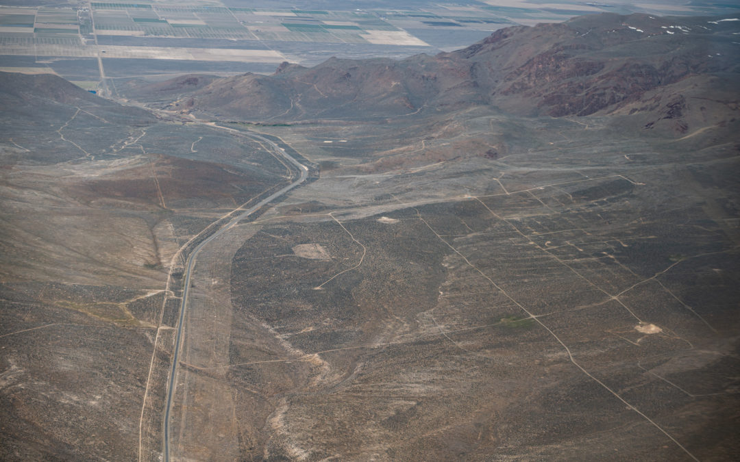 Eco Flight View of Thacker Pass