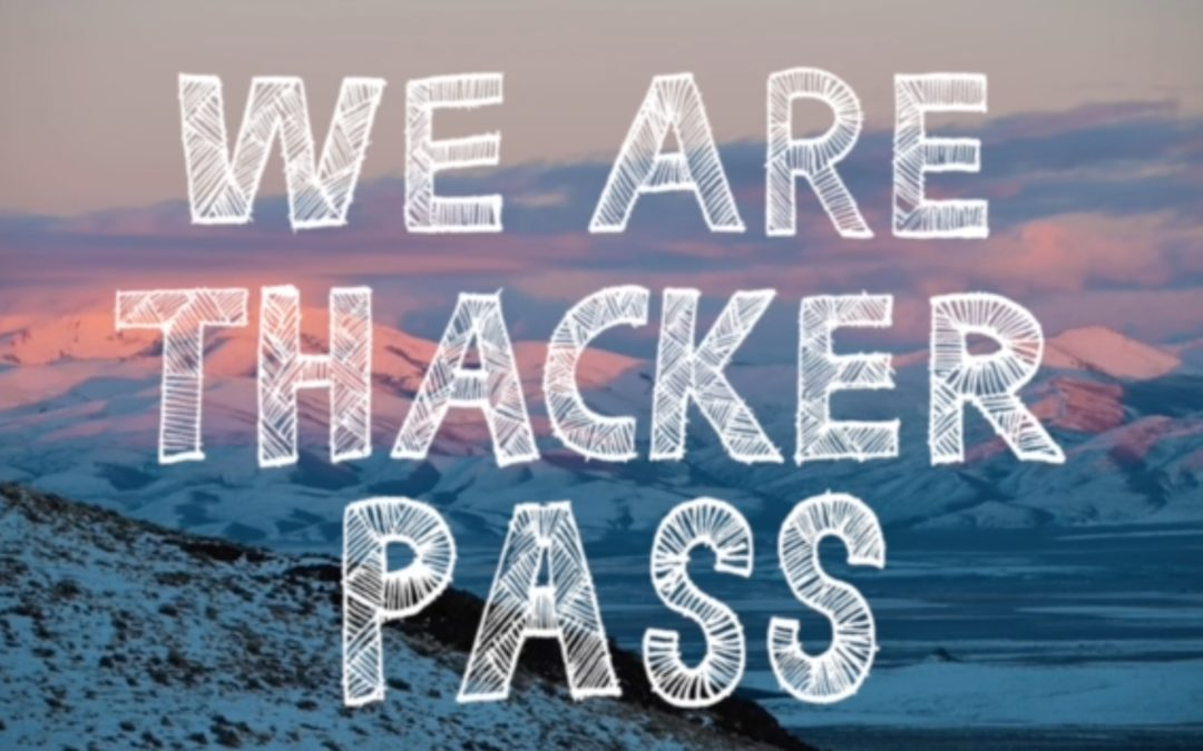 We are Thacker Pass, Thacker Pass is Us