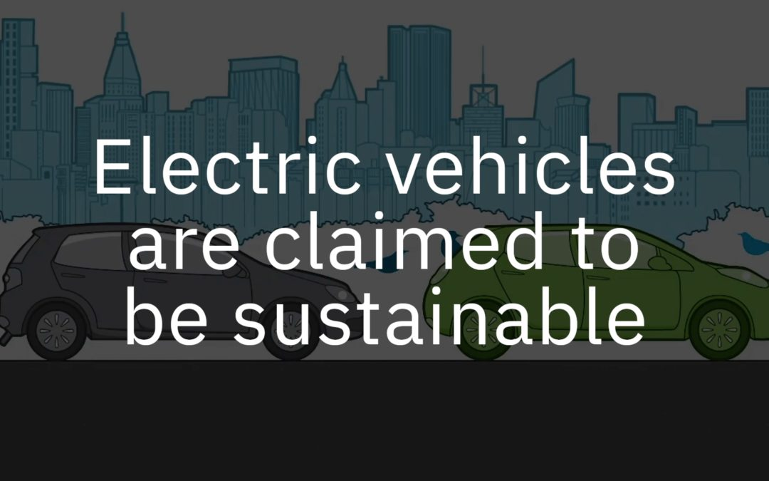 EVs are not sustainable: How you can help today