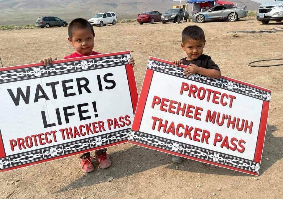 Kids Protecting Thacker Pass