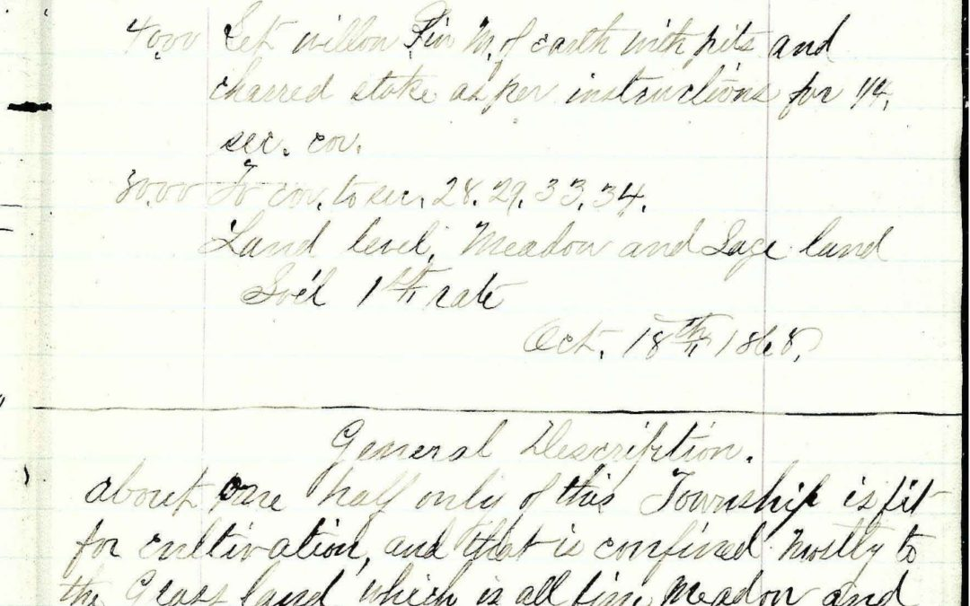 Oct 18, 1868 Diary Entry from Thacker Pass